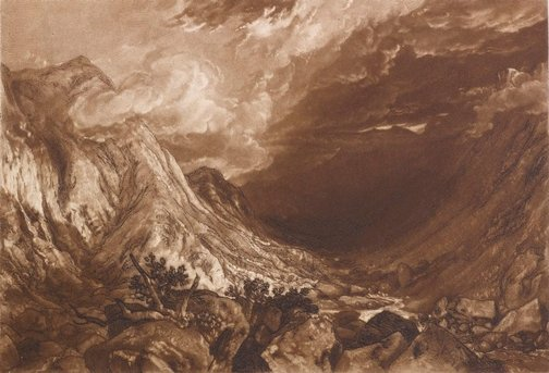 An image of Ben Arthur by Joseph Mallord William Turner