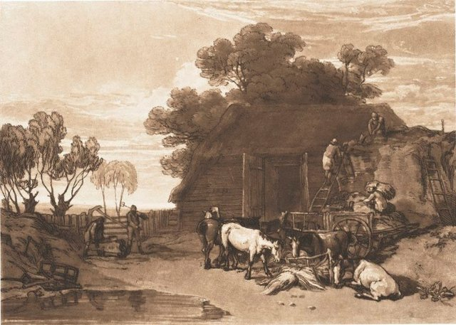 An image of The straw yard