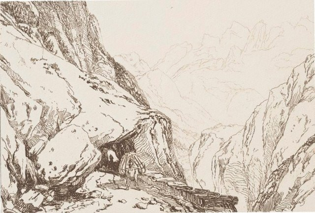 An image of Mt. St. Gothard