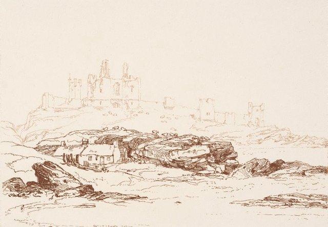 An image of Dunstanborough Castle