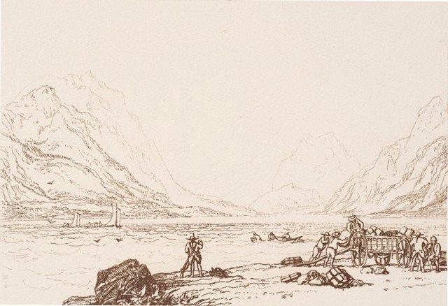 An image of Lake of Thun