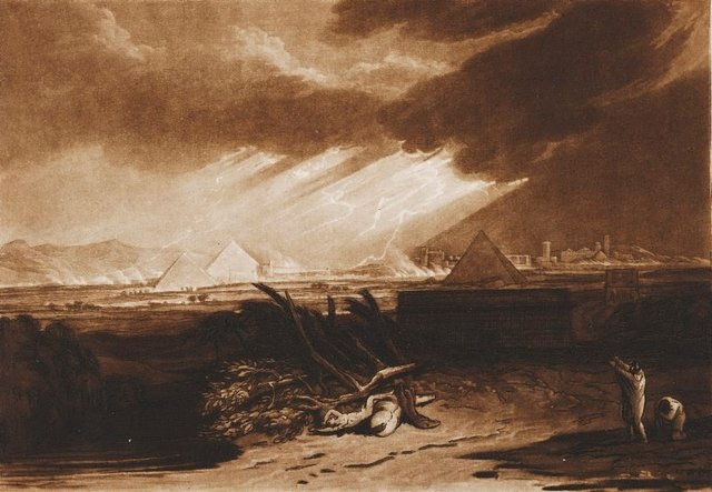 An image of The fifth plague of Egypt