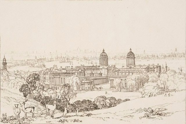 An image of London from Greenwich