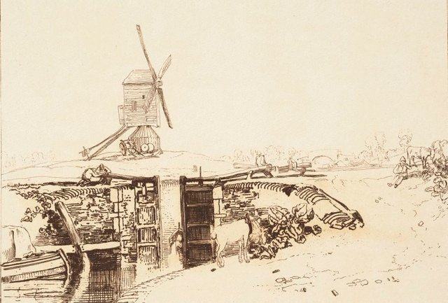 An image of Windmill and Lock