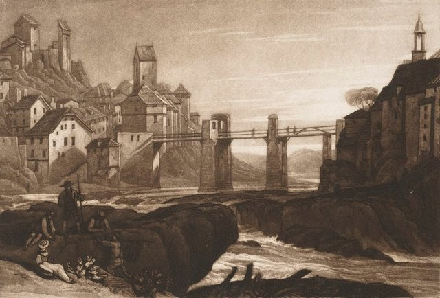 An image of Lauffenenbourgh on the Rhine