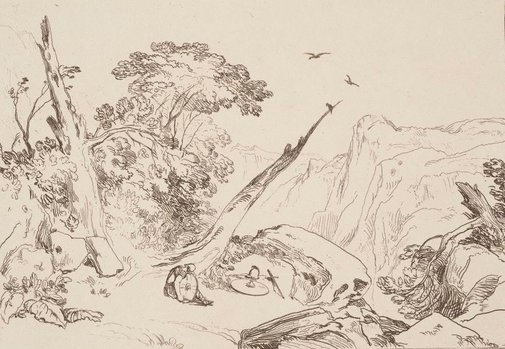 An image of From Spenser's Fairy Queen by Joseph Mallord William Turner