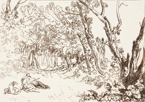An image of Procris and Cephalus by Joseph Mallord William Turner