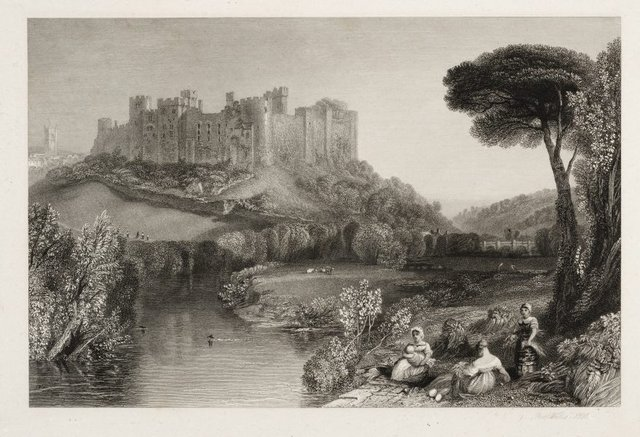 An image of Ludlow Castle, Shropshire
