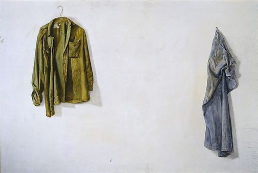 An image of Painting clothes by Bryan Westwood