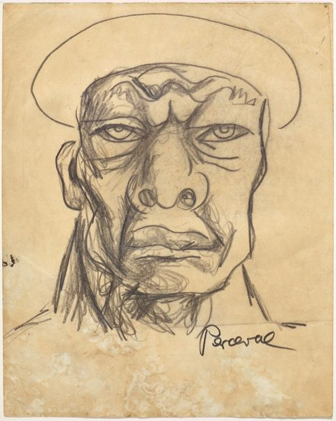 An image of Fascist by John Perceval