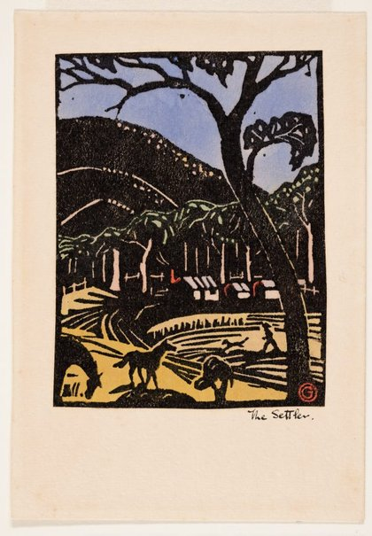 An image of The settler by Gladys Reynell