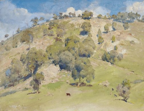 An image of Trawool landscape by Tom Roberts