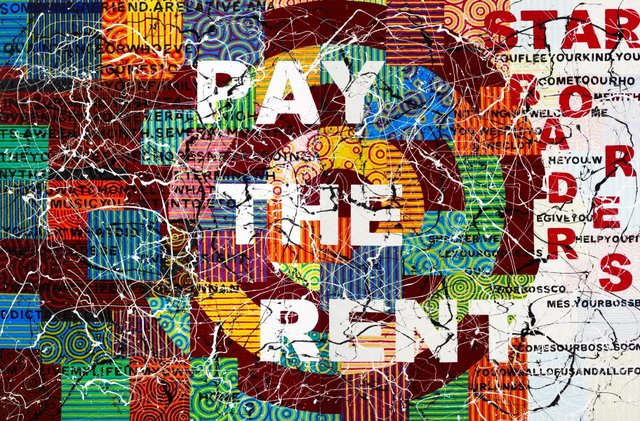 An image of Pay the rent