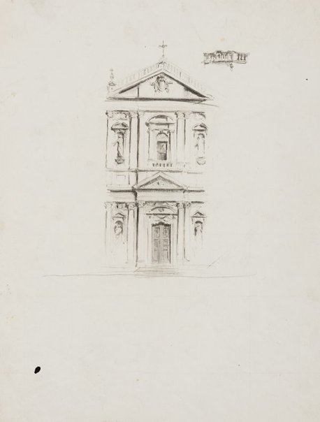 An image of Santa Susanna, Rome by Lloyd Rees