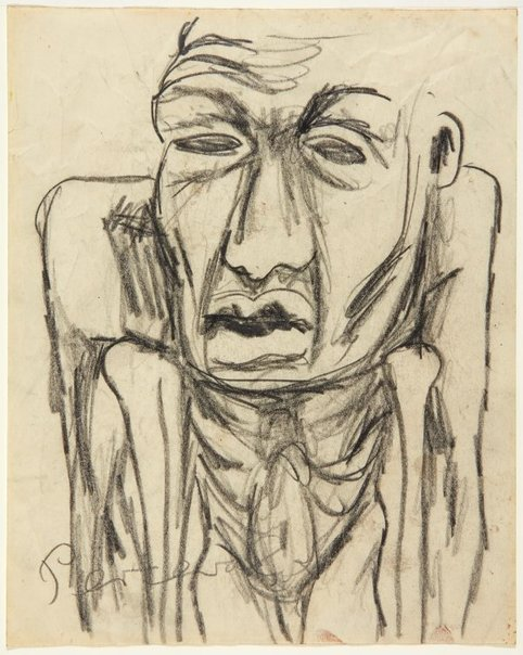 An image of Man on crutches by John Perceval