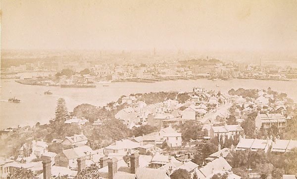 An image of Views in Sydney Harbour (North Shore showing Circular Quay in background)