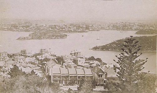 An image of Views in Sydney Harbour (Cockatoo Island) by Unknown