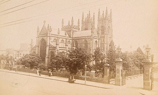 An image of St Andrew's Cathedral, Sydney by Unknown