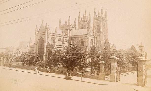 An image of St Andrew's Cathedral, Sydney