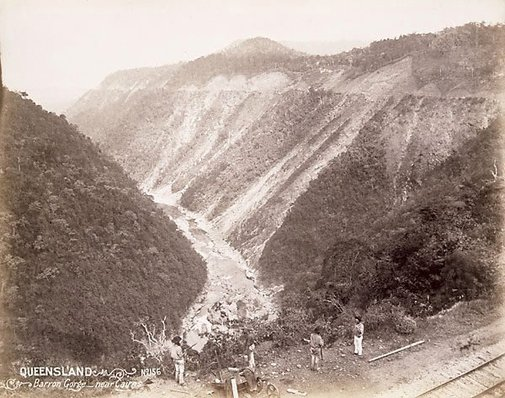 An image of Barron Gorge between Cairns and Kuranda by Unknown
