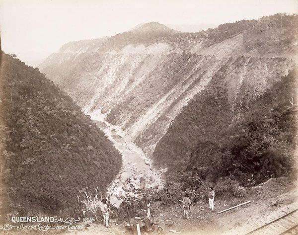 An image of Barron Gorge between Cairns and Kuranda