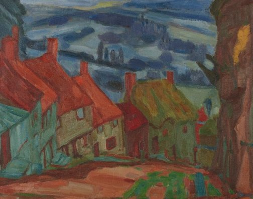 An image of Goldhill, Shaftesbury by Martin Bloch