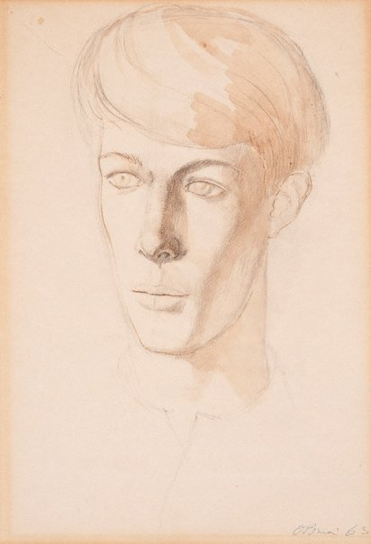 An image of Study for portrait by Justin O'Brien