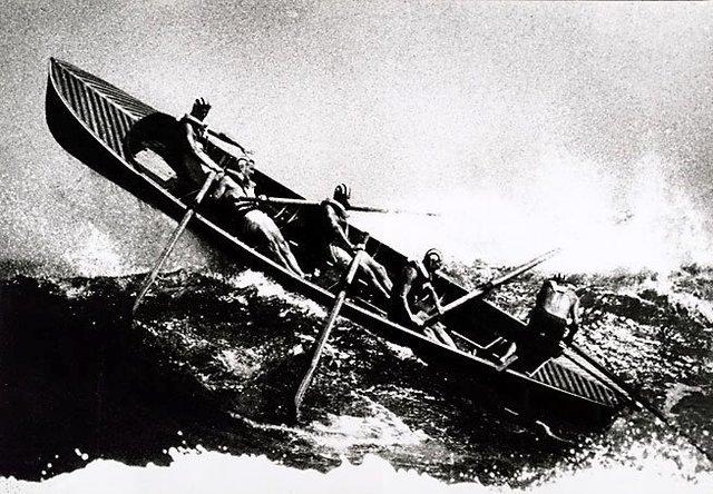An image of Sydney, surf boat