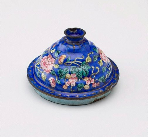 An image of Lid by Canton ware