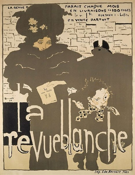 An image of La revue blanche by Pierre Bonnard