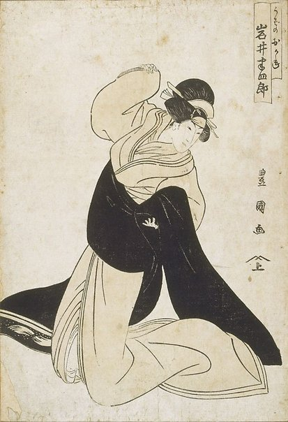 An image of Actor Iwai Hanshirô by Utagawa Toyokuni