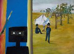 Alternate image of The camp by Sidney Nolan