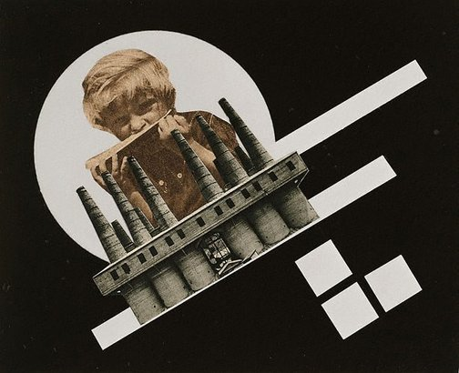 An image of Untitled (child eating, factory) by attrib. Elemérné Marsovszky