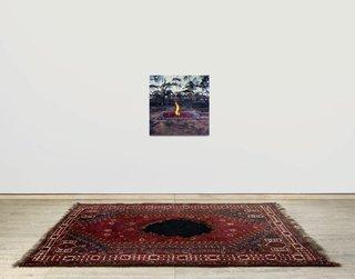 AGNSW collection Hossein Valamanesh Longing belonging 1997