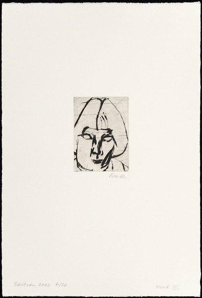 An image of Head III by Bea Maddock