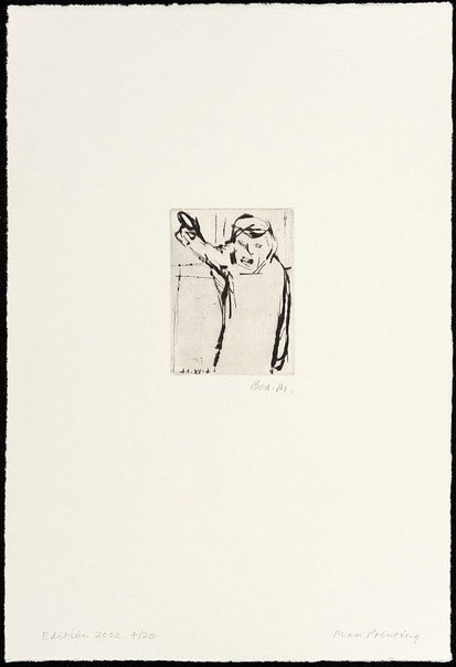 An image of Man pointing by Bea Maddock