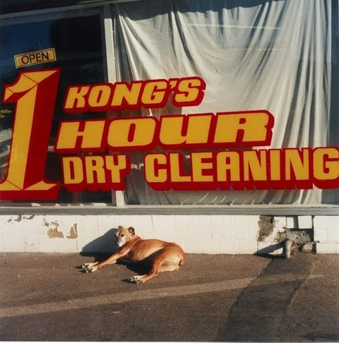 Kong's 1 hour dry cleaning, 1998, Cheaper & deeper by Glenn Sloggett