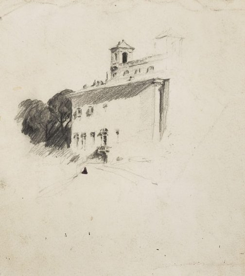 An image of Villa Medici, Rome by Lloyd Rees