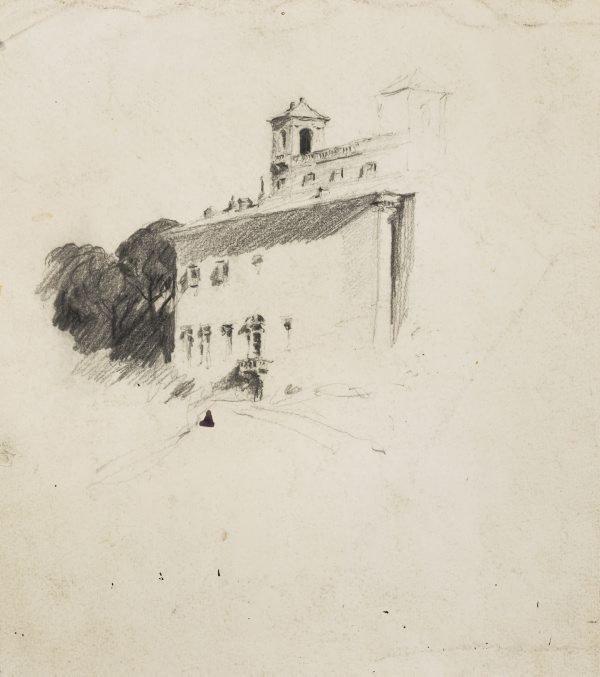 An image of Villa Medici, Rome