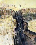 Alternate image of Waterfall polyptych by Fred Williams