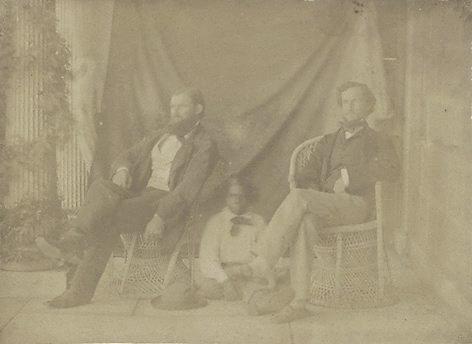 An image of Mr William Landsborough, Tiger and J.L.