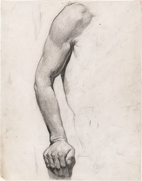 An image of Arm study by Roland Wakelin