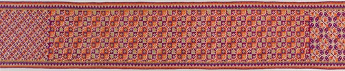 An image of Men's waist cloth (kandit) by Tausug