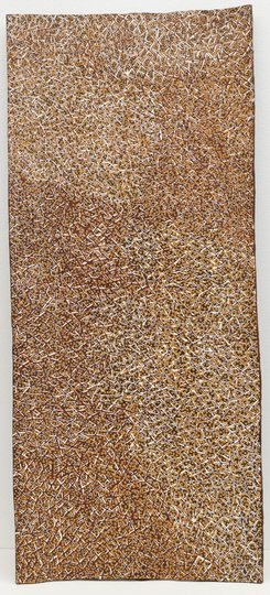 AGNSW collection Gulumbu Yunupingu Garak, The Universe (2009) 208.2010