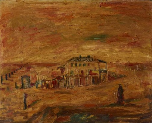 An image of Ghost town by Brett Whiteley