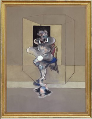 Alternate image of Study for self-portrait by Francis Bacon