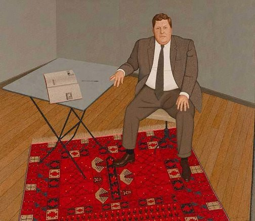 An image of Portrait of Fred Williams by John Brack