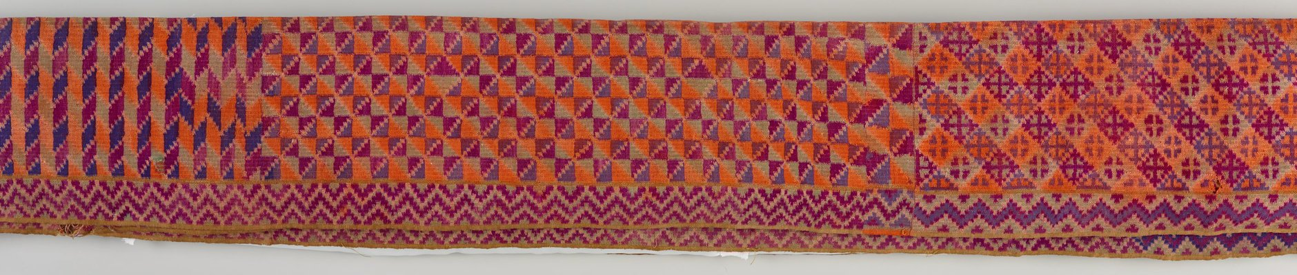 Alternate image of Men's waist cloth ( kandit) by Tausug