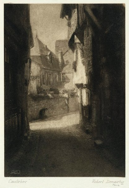 An image of Caudebec by Robert Demachy