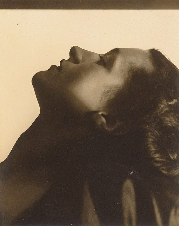 An image of Untitled (Vesta Davies, face profile)